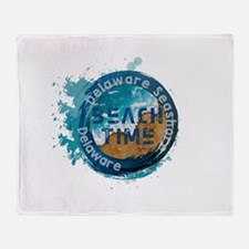 Delaware Seashore State Park Throw Blanket