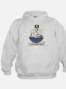 Ahoy Matey Pirate Hoodie