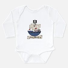 Ahoy Matey Pirate Long Sleeve Infant Bodysuit