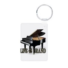 LIFE IS GRAND Keychains