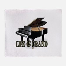 LIFE IS GRAND Throw Blanket