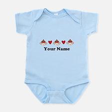 Personalized Sock Monkey Infant Bodysuit