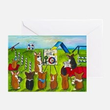 Agility Class Greeting Cards (Pk of 10)