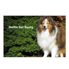 Sheltie Got Booty Postcards (Package of 8)