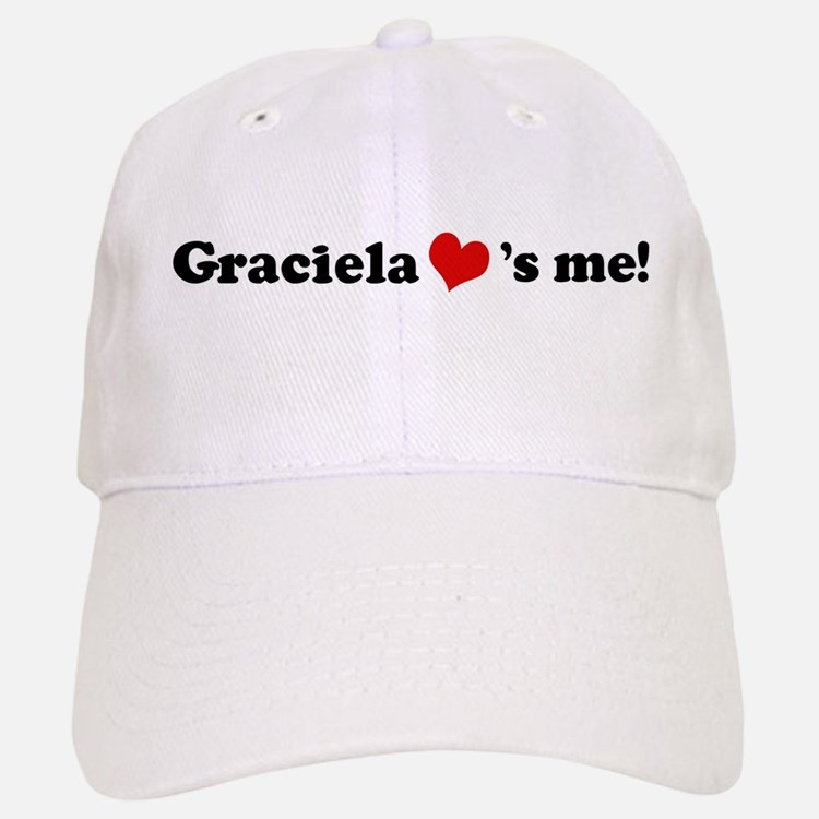 Graciela loves me Baseball Baseball Cap