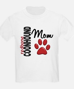 Redbone Coonhound Mom 2 T-Shirt