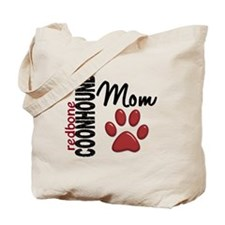 Redbone Coonhound Mom 2 Tote Bag