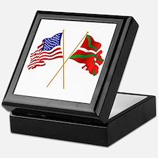Cute Basque Keepsake Box