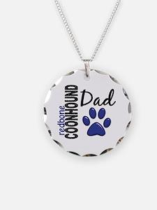 Redbone Coonhound Dad 2 Necklace