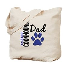 Redbone Coonhound Dad 2 Tote Bag