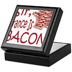 Sir France Is Bacon Keepsake Box