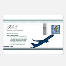 Boarding Pass Postcards (Package of 8)