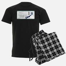 Boarding Pass Pajamas