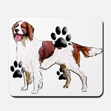 setter and Paws Mousepad