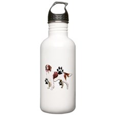 setter and Paws Sports Water Bottle