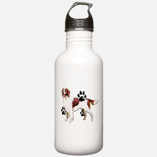 setter and Paws Water Bottle