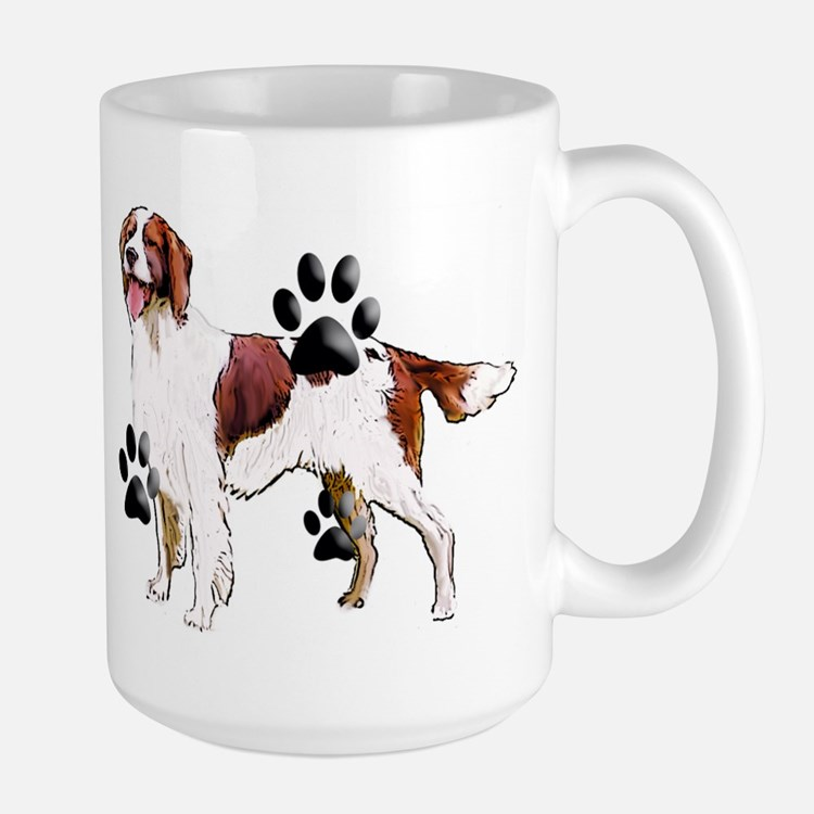 setter and Paws Large Mug