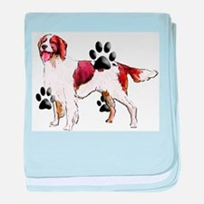 setter and Paws baby blanket