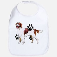 setter and Paws Bib