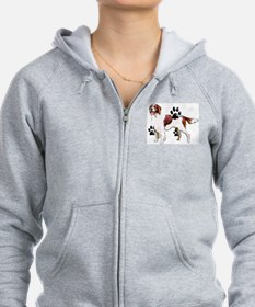 setter and Paws Zip Hoodie