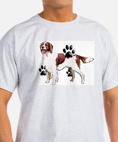 setter and Paws T-Shirt