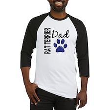 Rat Terrier Dad 2 Baseball Jersey
