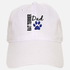 Rat Terrier Dad 2 Baseball Baseball Cap