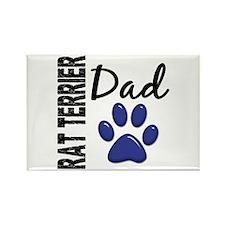 Rat Terrier Dad 2 Rectangle Magnet