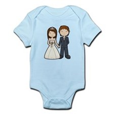Wedding Couple Infant Bodysuit