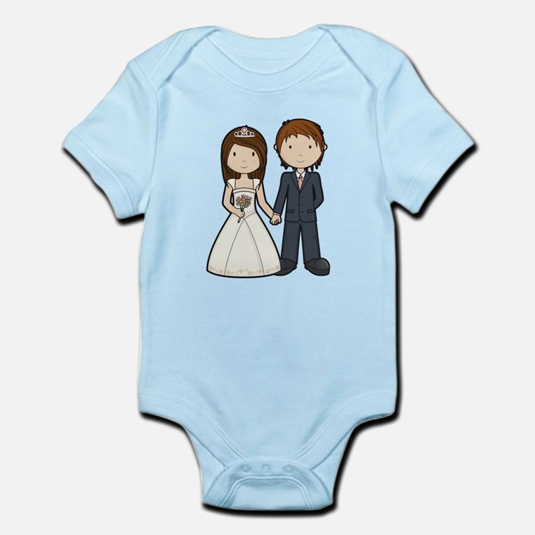Wedding Couple Infant Bodysuit