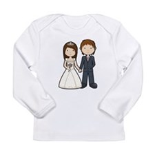 Wedding Couple Long Sleeve Infant T-Shirt