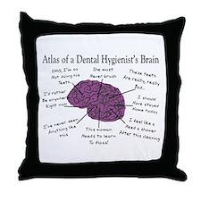 Atlas Of... Throw Pillow