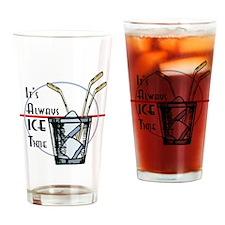 Cute Puck u Drinking Glass