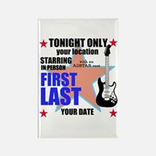 Music Poster Rectangle Magnet