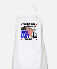 Music Poster Apron