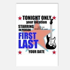 Music Poster Postcards (Package of 8)