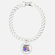 Music Poster Charm Bracelet, One Charm