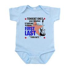 Music Poster Infant Bodysuit