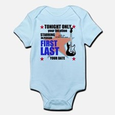 Music Poster Infant Bodysuit