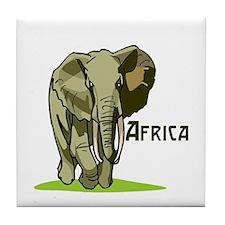 Africa Tile Coaster