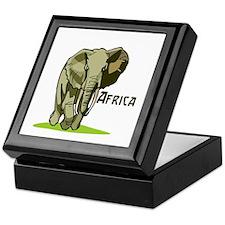 Africa Keepsake Box