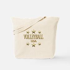 USA Volleyball Tote Bag