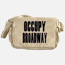 Occupy Broadway Messenger Bag