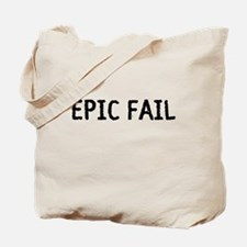 Epic Fail Tote Bag