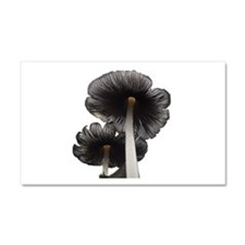 Two Mushrooms Car Magnet 20 x 12