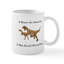 It Was Social Networking Mug