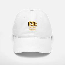 Customizable CSI Baseball Baseball Cap