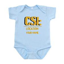 Customizable CSI Infant Bodysuit