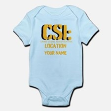 Customizable CSI Infant Bodysuit