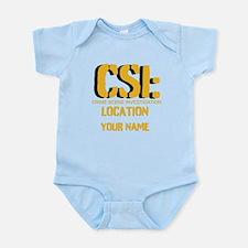 Customizable CSI Onesie